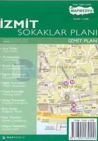 İzmit Sokaklar Planı