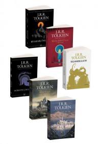 J.R.R. Tolkien 6 Kitap Takım