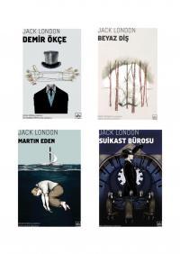 Jack London 4 Kitap Takım