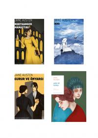 Jane Austen 4 Kitap Takım