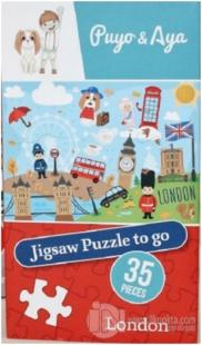 Jigsaw Puzzle to go London - Puyo and Aya