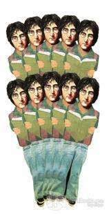 John Lennon - 10'lu Lazer Kesim Ayraç