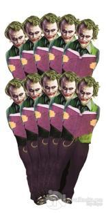 Joker - 10'lu Lazer Kesim Ayraç