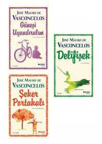 Şeker Portakalı 3 Kitap Takım Jose Mauro de Vasconcelos