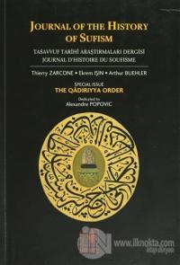 Journal of The History of Sufism Tasavvuf Araştırmaları Dergisi Sayı: 1-2 Journal D'Histoire de Soufisme