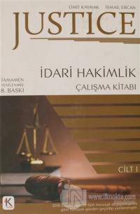 Justice İdari Hakimlik Çalışma Kitabı 1.Cilt 2018 (Ciltli)