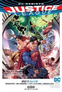 Justice League Cilt 2 - Salgın Bryan Hitch
