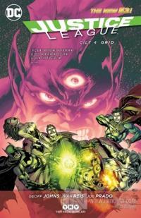 Justice League Cilt 4 - Grid %25 indirimli Geoff Johns