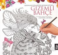 Kadınlar İçin Büyük Boyama Kitabı - Gizemli Bahçe