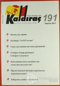 Kaldıraç Dergisi Sayı : 191 Haziran 2017