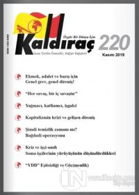 Kaldıraç Dergisi Sayı: 220 Kasım 2019 Kolektif