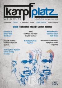 Kampfplatz Felsefe ve Sosyal Bilimler Dergisi Sayı: 13