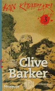 Kan Kitapları 3 %25 indirimli Clive Barker