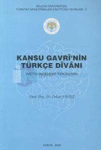 Kansu Gavri'nin Türkçe Divanı