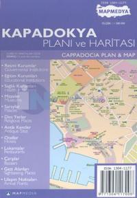 Kapadokya Planı ve HaritasıCapadocia Plan & Map