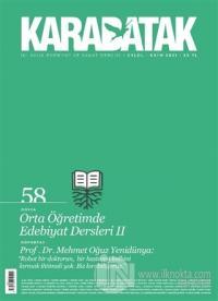 Karabatak Dergisi Sayı: 58 Eylül - Ekim 2021 Kolektif