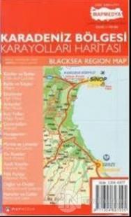 Karadeniz Bölgesi Karayolları Haritası
