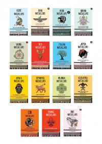 Kara Karga Dünya Masalları 15 Kitap Takım