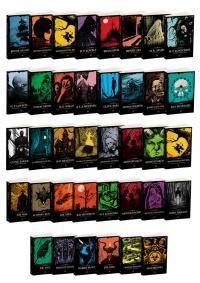 Karanlık Kitaplık 38 Kitap Takım