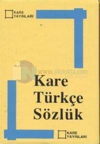 Kare Türkçe Sözlük