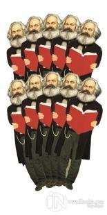 Karl Marx - 10'lu Lazer Kesim Ayraç