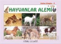 Karton Kitaplar 9 - Hayvanlar Alemi