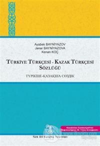Kazak Türkçesi - Türkiye Türkçesi / Türkiye Türkçesi - Kazak Türkçesi Sözlüğü (2 Cilt Takım) (Ciltli)