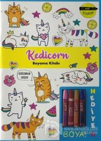 Kedicorn Boyama Kitabı - Minik Ressamlar