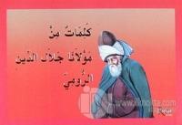 Kelimat Min Mevlana Celaleddini-Rumi (Arapça)
