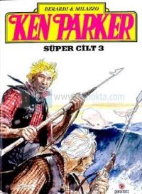 Ken Parker Süper Cİlt 3 %25 indirimli Berardi & Milazzo