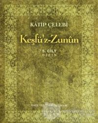 Keşfü'z-Zunun (5 Cilt Takım)