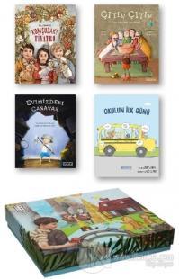 Ketebe Çocuk Kutulu Set 1 (4 Kitap Takım) (Ciltli)