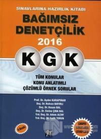 KGK - Bağımsız Denetçilik Sınavlarına Hazırlık Kitabı 2016