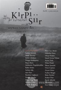 Kirpi Şiir Dergisi Sayı: 10 Haziran - Temmuz 2021 Kolektif