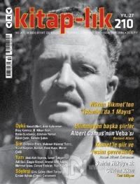 Kitap-lık Dergisi Sayı: 210 Temmuz - Ağustos 2020