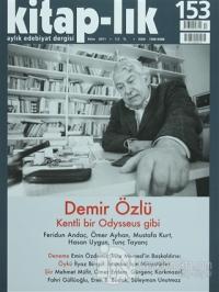 Kitap-lık Sayı: 153 Aylık Edebiyat Dergisi