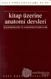Kitap Üzerine Anatomi Dersleri