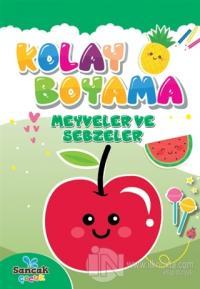 Kolay Boyama - Meyveler ve Sebzeler Fatıma Gülbahar Karaca