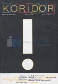 Koridor Kültür Sanat Edebiyat Dergisi Sayı: 15