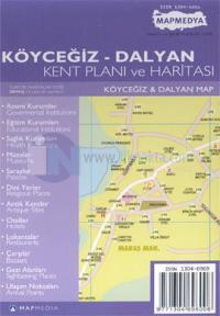 Köyceğiz - Dalyan Kent Planı ve Haritası