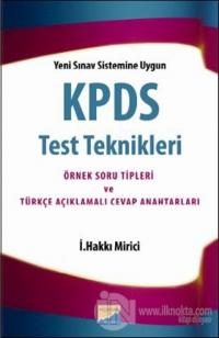 KPDS Test Teknikleri