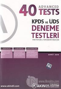 KPDS ve ÜDS Deneme Testleri - 40 Advanced Tests