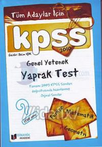 KPSS 2010 Genel Yetenek Yaprak Test