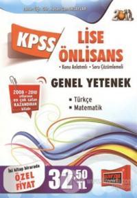 KPSS 2012 Lise Önlisans Genel Yetenek Genel Kültür