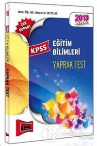 KPSS 2013 Eğitim Bilimleri Çek Kopart Yaprak Test
