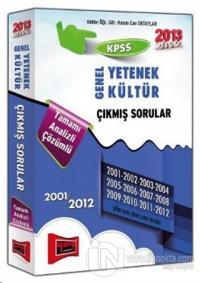 KPSS 2013 Genel Yetenek - Genel Kültür Çıkmış Sorular