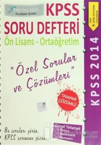 KPSS 2014 Soru Defteri Ön Lisans-Ortaöğretim