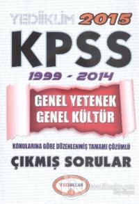 KPSS 2015 Genel Yetenek Genel Kültür 1999 - 2014 Çıkmış Sorular