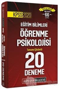 KPSS 2020 Eğitim Bilimleri Öğrenme Psikolojisi Tamamı Çözümlü 20 Deneme