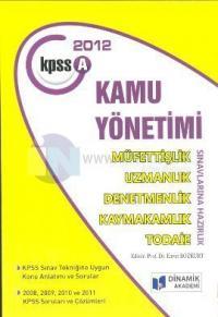 KPSS A Grubu Kamu Yönetimi 2012
